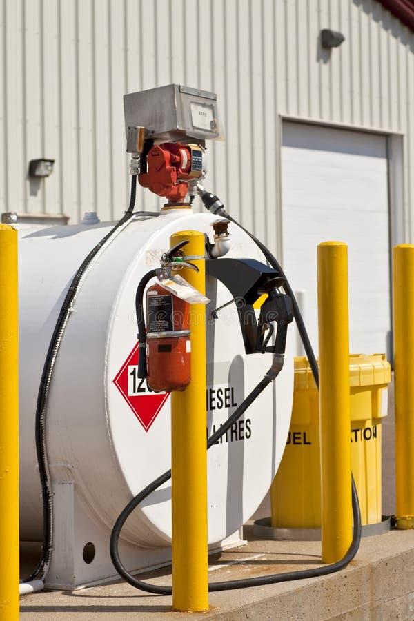 Depósitos de gasolina fotografía de archivo libre de regalías