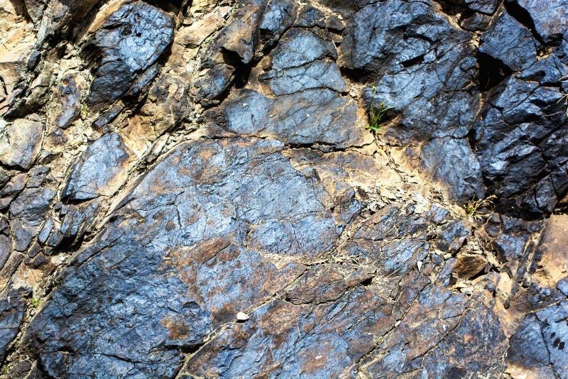 Depósitos del mineral imagenes de archivo
