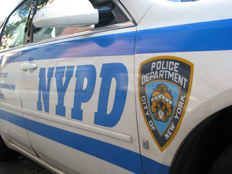 Departamento da polícia de New York imagem de stock