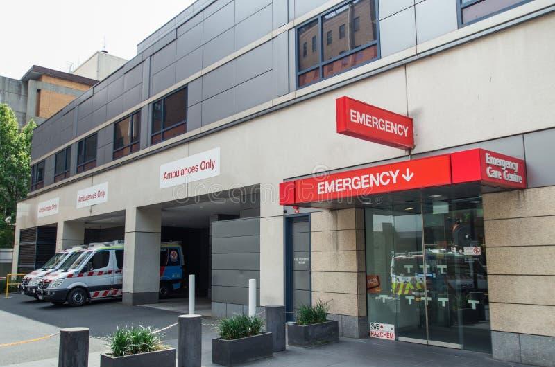 Departamento de emergencia en el hospital de St Vincent imagenes de archivo