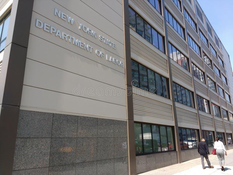 Departamento de Estado de Nueva York de trabajo, Brooklyn, NY, los E.E.U.U. fotos de archivo libres de regalías
