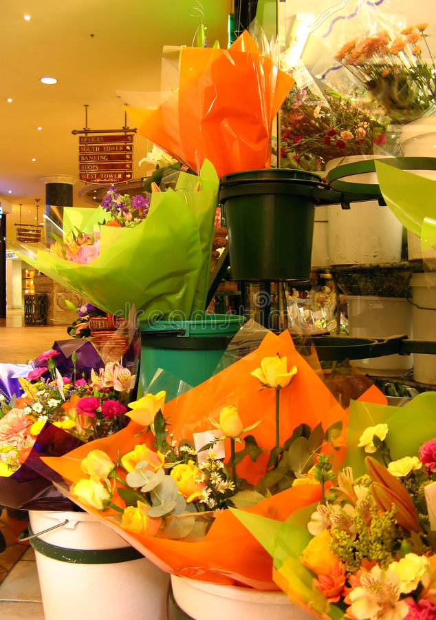 Departamento de florista imagenes de archivo