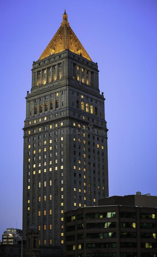 Departamento de justiça dos E.U. - New York City foto de stock royalty free
