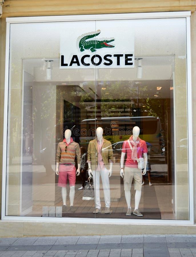 Departamento de Lacoste, París imagen de archivo
