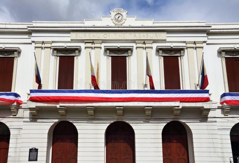 Departamento de Manila do Tesouraria imagem de stock