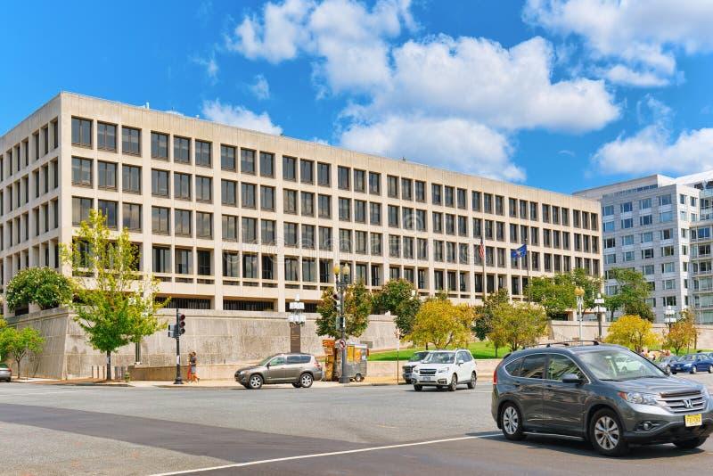 Departamento de Washington, los E.E.U.U., Estados Unidos de trabajo foto de archivo
