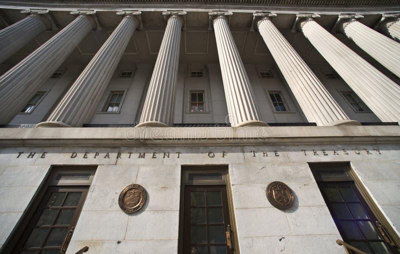 Departamento del Tesoro. imagen de archivo libre de regalías