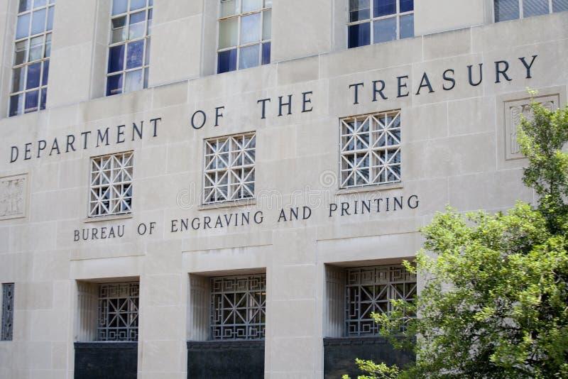 Departamento del Tesoro fotos de archivo libres de regalías