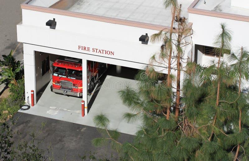 Departamento dos bombeiros foto de stock