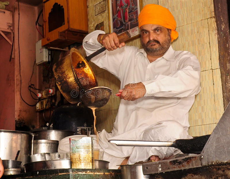 Departamento indio del té fotografía de archivo