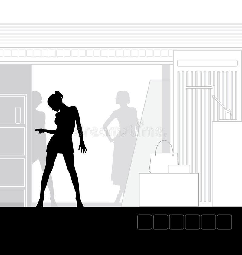 Departamento interior 3 libre illustration