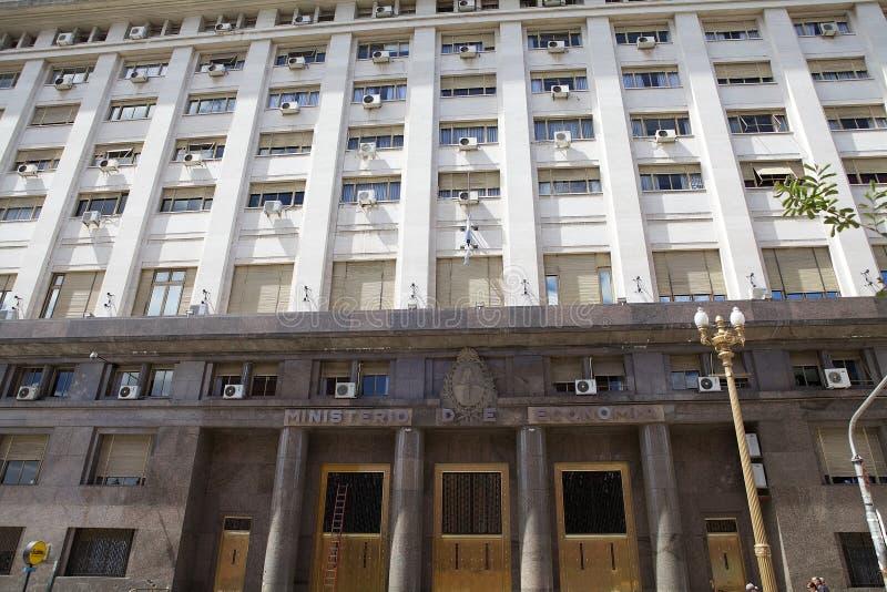 Departement av ekonomi i Buenos Aires, Argentina arkivfoto