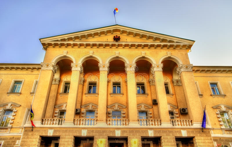 Departement av inre av Moldavien royaltyfria foton
