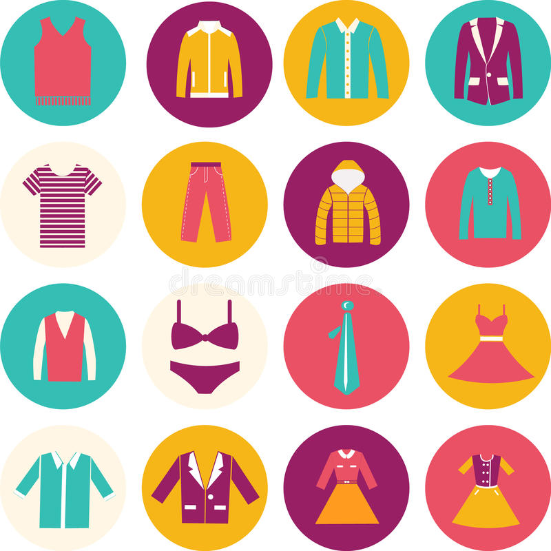 Department Store Clothing Fashion Icon Stock Vector Illustration Of Clothes Women 38178417