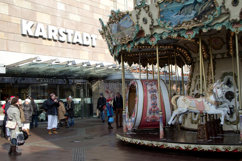 The Department Stores KARSTADT, Germany Editorial Stock Image