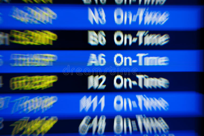 Download Departure Board At  Airport Royalty Free Stock Image - Image: 22194846