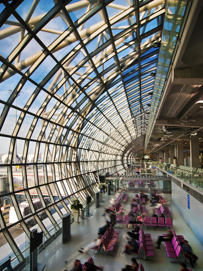 Download Departure Hall At The Airport Stock Photography - Image: 23059032