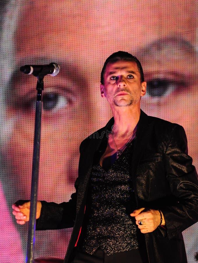 Depeche方式音乐会 免版税图库摄影