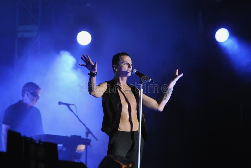 depeche模式 库存图片