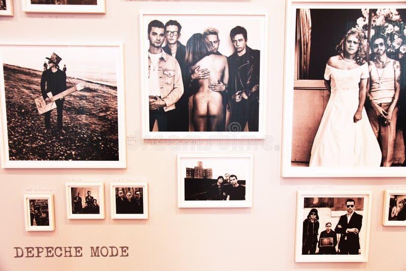 Depeche funktionsläge arkivfoton