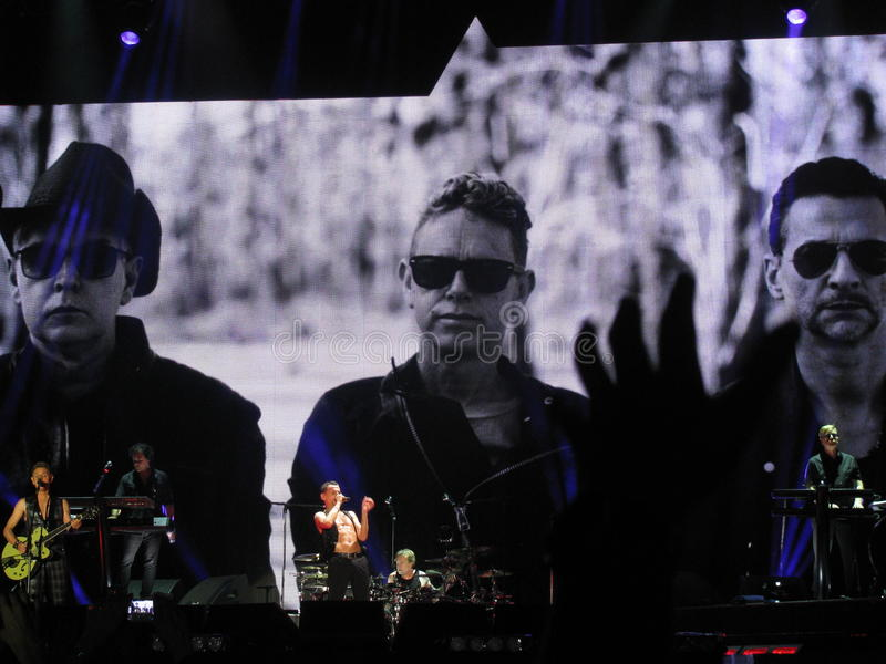 Depeche Mode ilustração stock