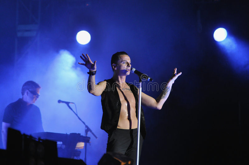 Depeche Mode stock images