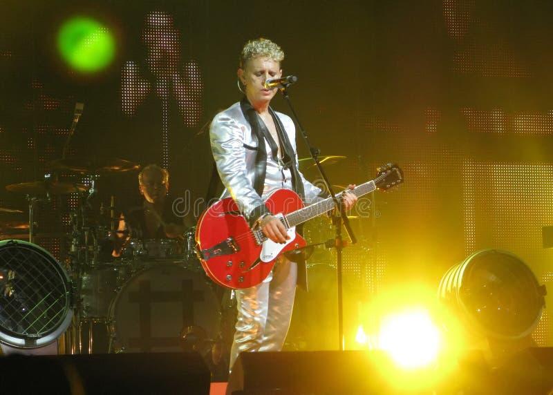 Depeche Mode Martin photos stock