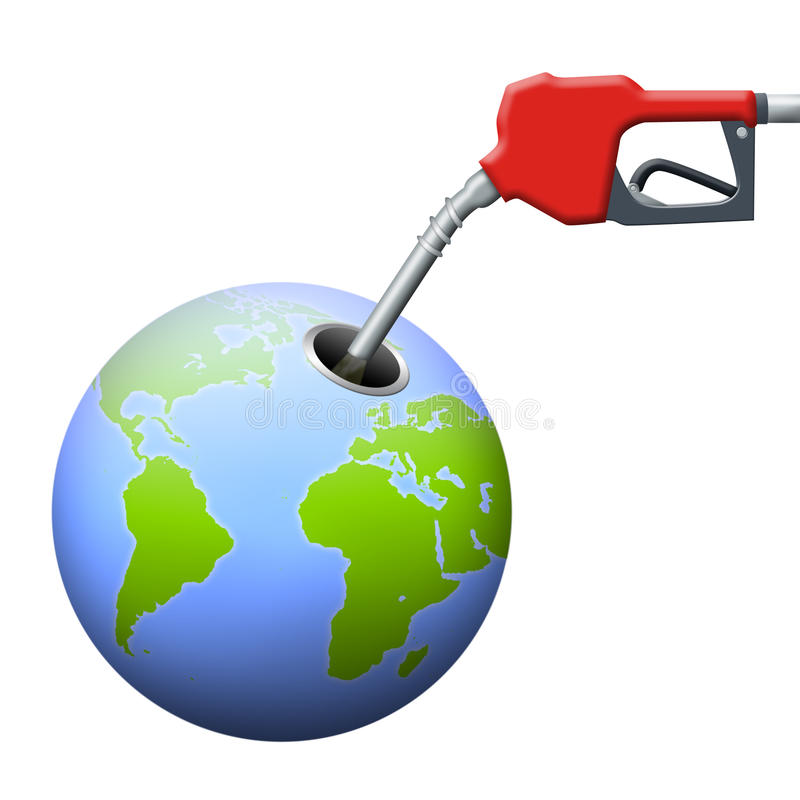 Dependencia de petróleo libre illustration