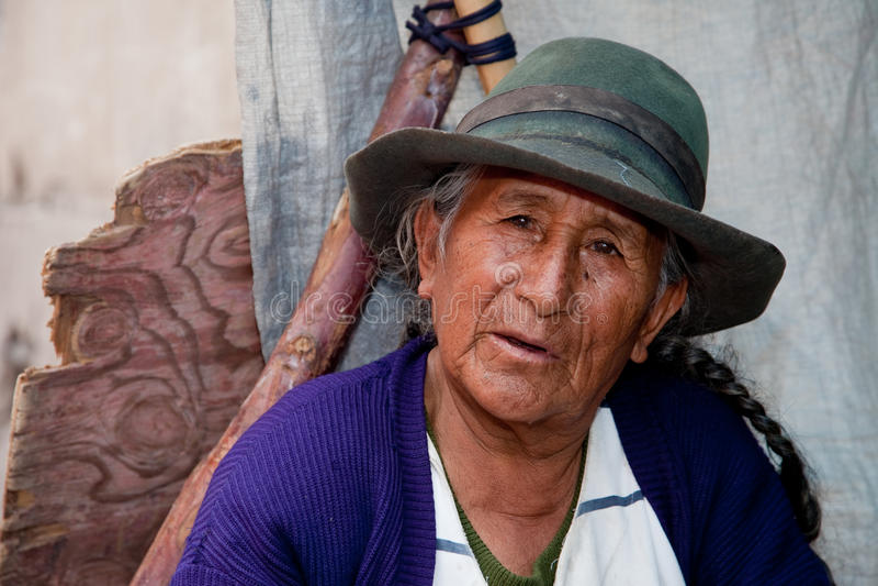Dependienta, Suramérica imagenes de archivo
