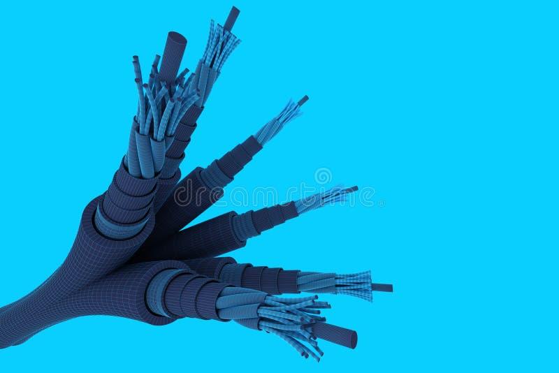 Download Depeszuje elektrycznego ilustracji. Ilustracja złożonej z elektryczność - 13329468