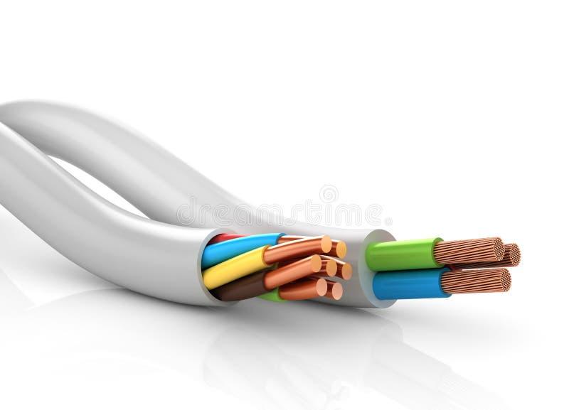 depeszuje elektrycznego ilustracji