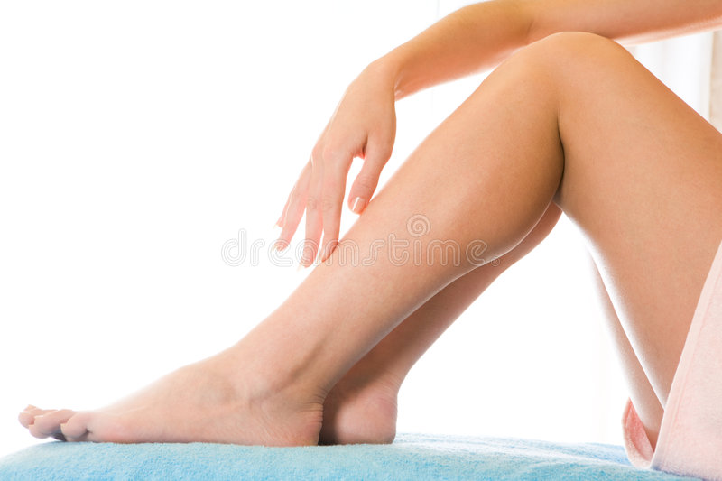 After Depilation Royalty Free Stock Photo