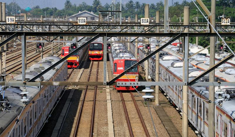Train Depot royalty free stock photo