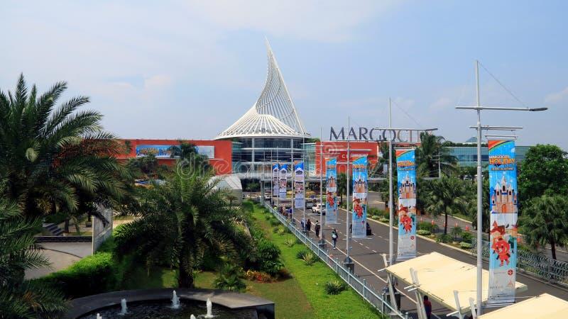 Margo City Mall. Depok, Indonesia - May 26, 2018: Margo City, super mall in Jalan Margonda, Depok, West Java royalty free stock photography