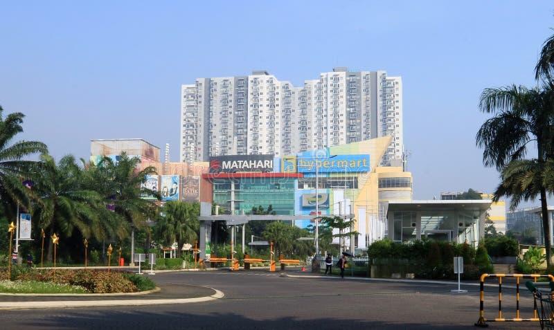 Depok Town Square. Depok, Indonesia - May 26, 2018: Depok Town Square, mall in Jalan Margonda, Depok, West Java royalty free stock photography