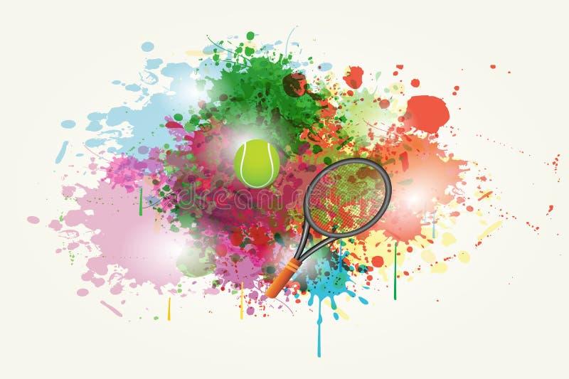 Deporte abstracto Backround stock de ilustración
