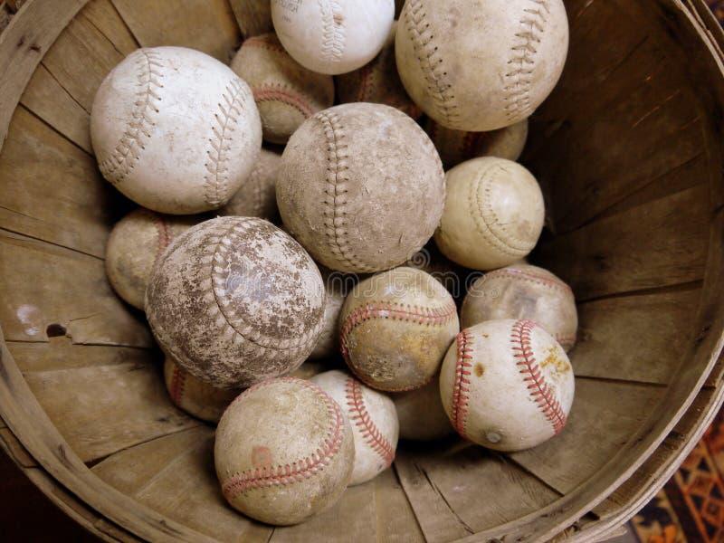 Deporte: colección del béisbol de la vendimia foto de archivo libre de regalías