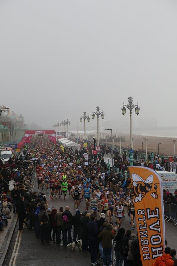 Deporte corriente del ejercicio del maratón sano imagen de archivo