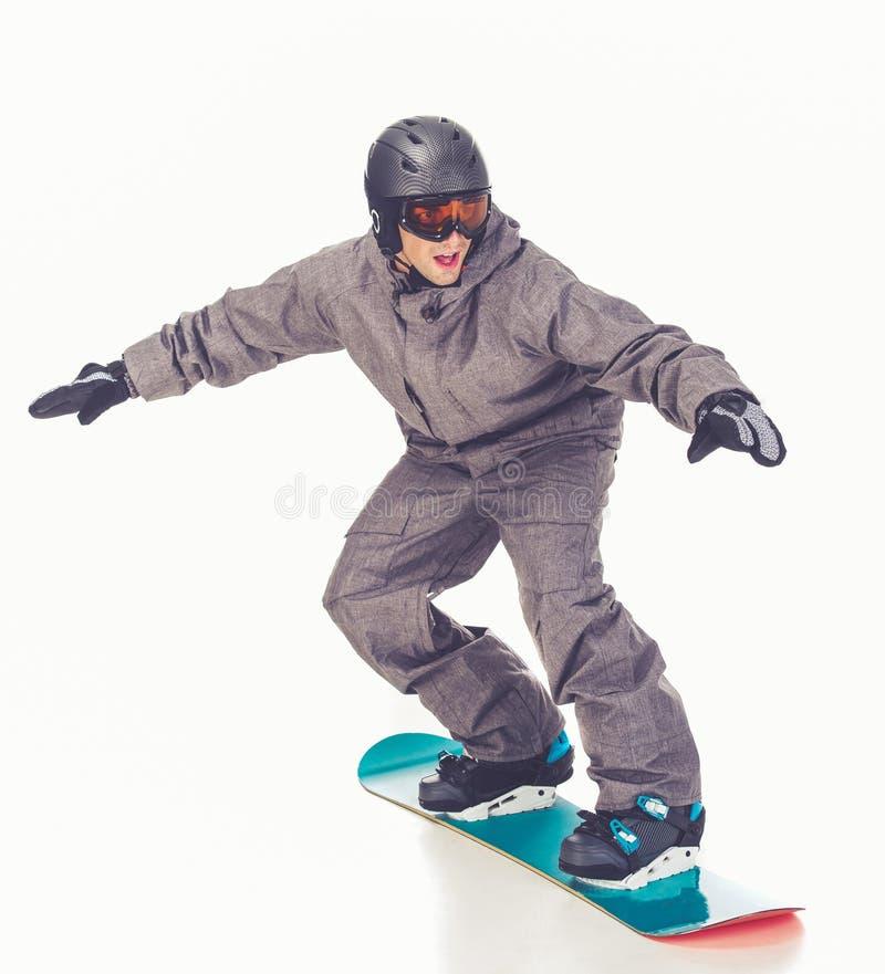 Deporte de invierno, hombre foto de archivo libre de regalías