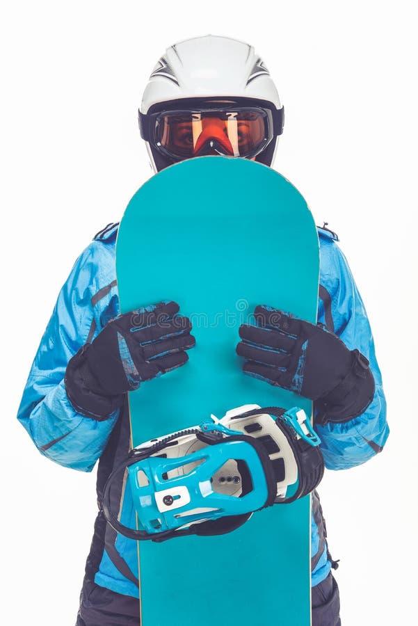 Deporte de invierno, muchacha foto de archivo libre de regalías