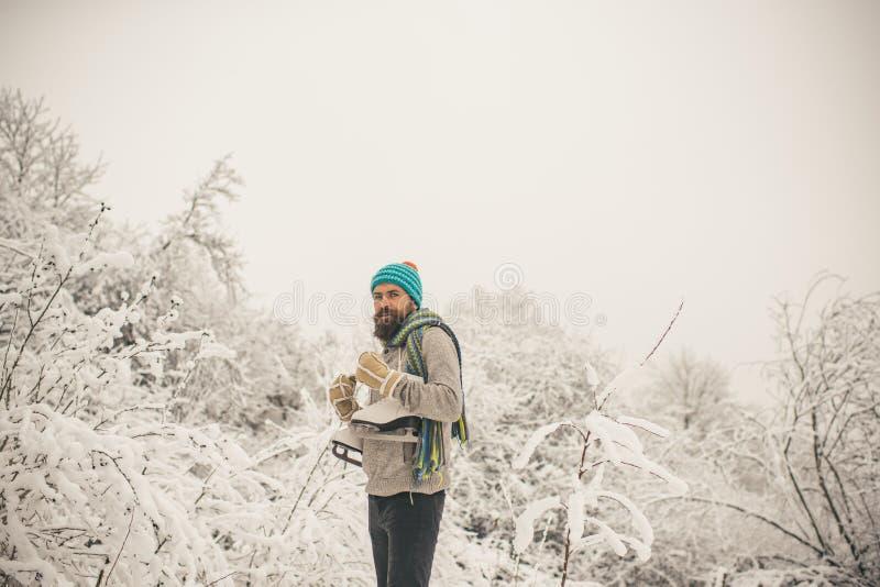 Deporte de invierno y resto, la Navidad fotografía de archivo libre de regalías