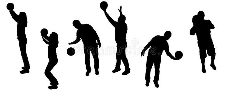 Deporte de la silueta ilustración del vector