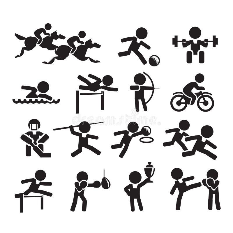Deporte de los iconos libre illustration