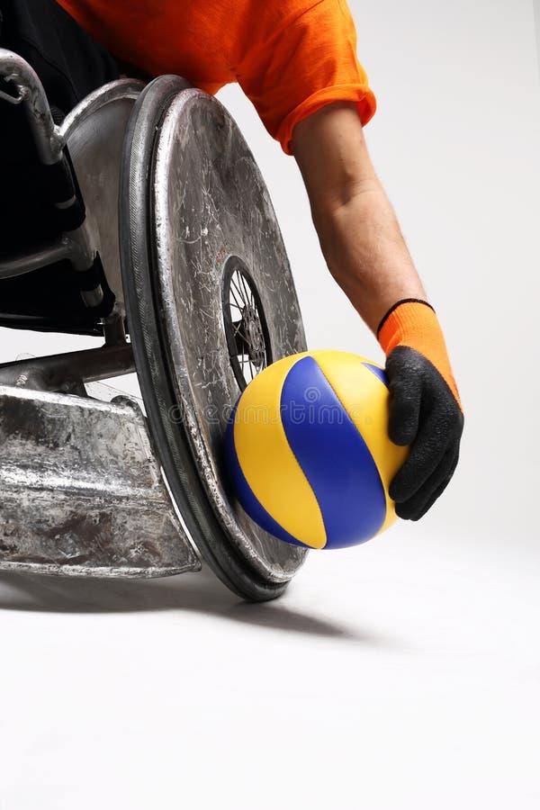 Deporte para el discapacitado imagen de archivo libre de regalías