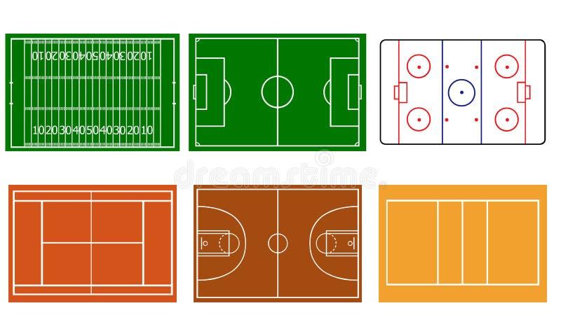 Deportes ilustración del vector