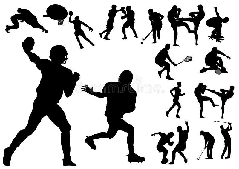 Deportes stock de ilustración