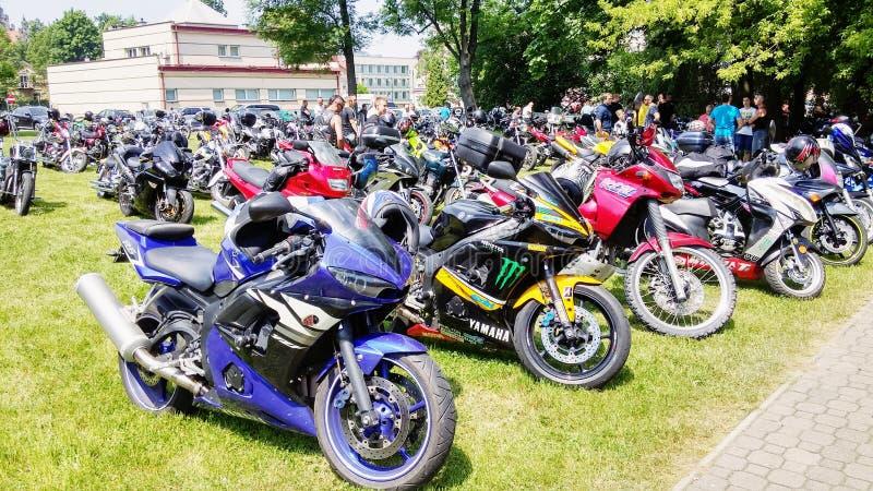 Deportes de las motocicletas de la motocicleta fotografía de archivo libre de regalías