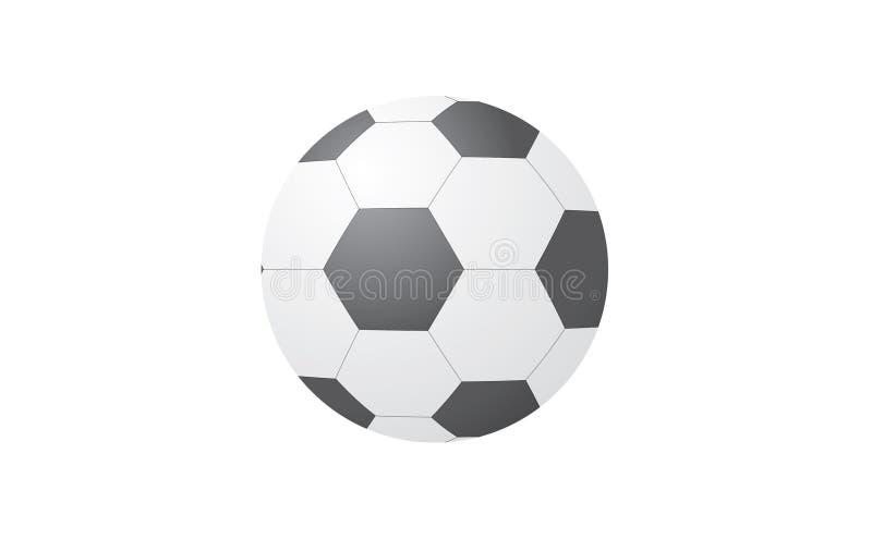 Deportes del fútbol stock de ilustración