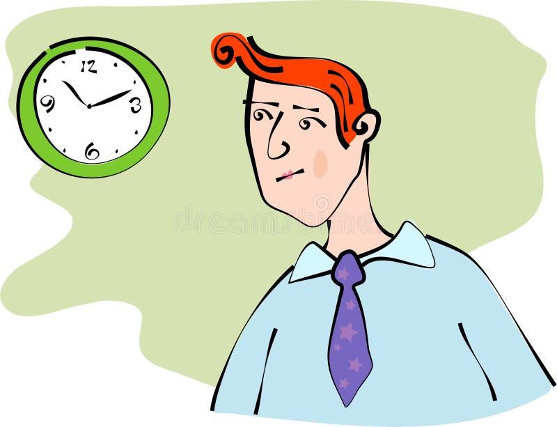Depositário do tempo ilustração do vetor