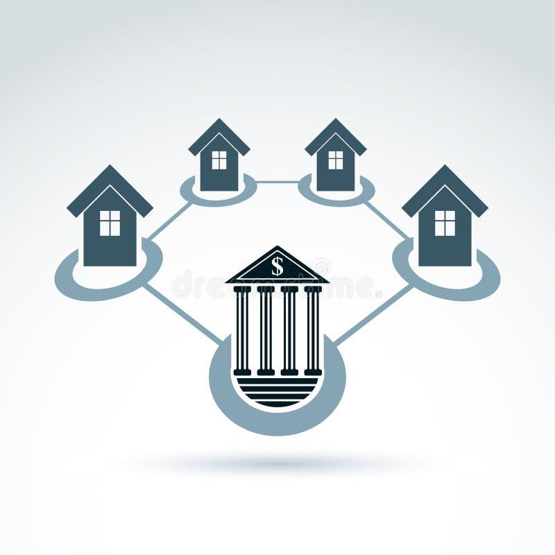 Deposite e invierta y acredite a los clientes, propiedades inmobiliarias que acreditan y libre illustration
